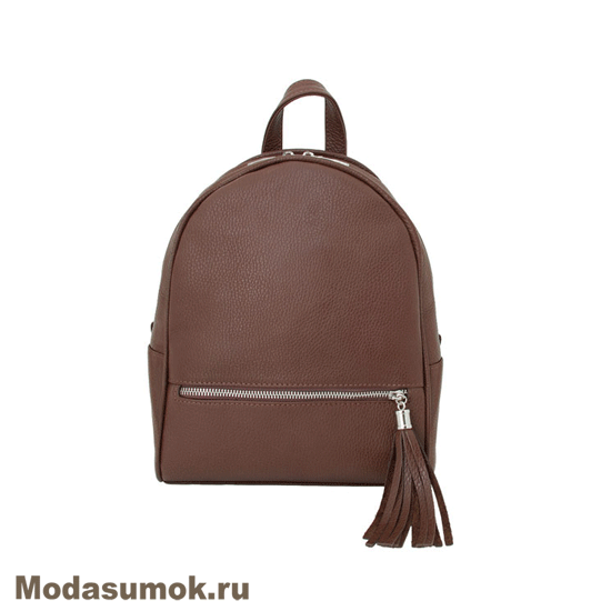 b0ae6dacdef5 Рюкзак женский из натуральной кожи Protege Ц-348 коричневый купить в ...
