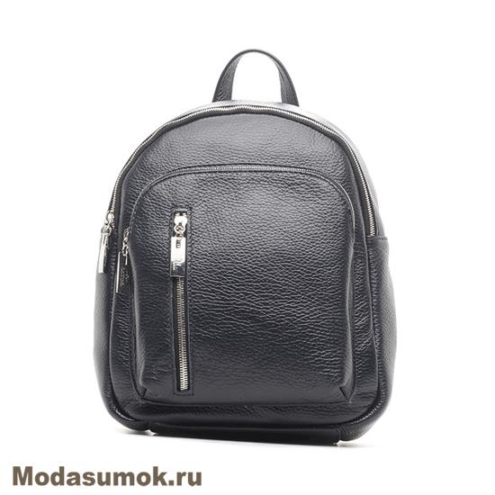 cf701e2669d1 Женский рюкзак из натуральной кожи Chicaloco- 270 чёрный купить в ...