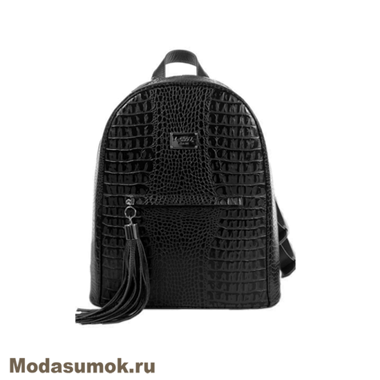 f1d19a785305 Женский рюкзак из натуральной кожи L-Craft L 90 чёрный купить в ...